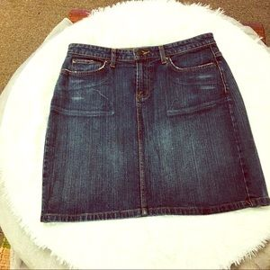 Mossimo Jean Skirt NWOT Size 8